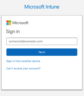 Image of login/password for Active Directory