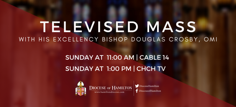 Televised Mass with His Excellency Bishop Douglas Crosby, OMI Featured Photo