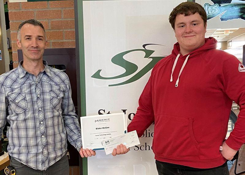 Congratulations Blake McGee! Featured Photo