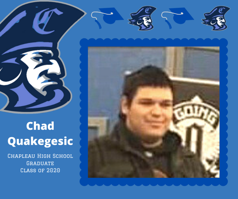 CHS Grade 12 Grad: Chad Quakegesic Featured Photo
