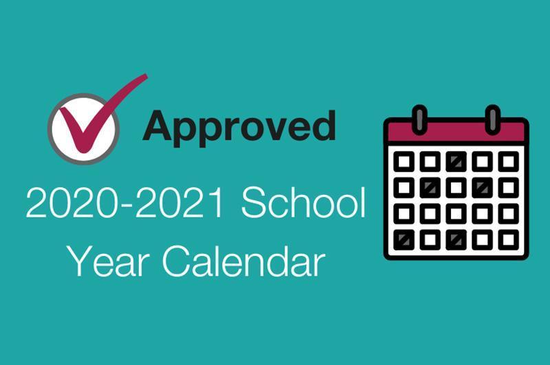 2020 - 2021 School Year Calendar Featured Photo