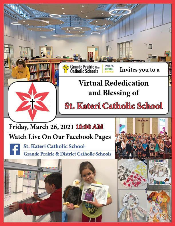 St. Kateri Virtual Rededication & Blessing (March 26) Featured Photo