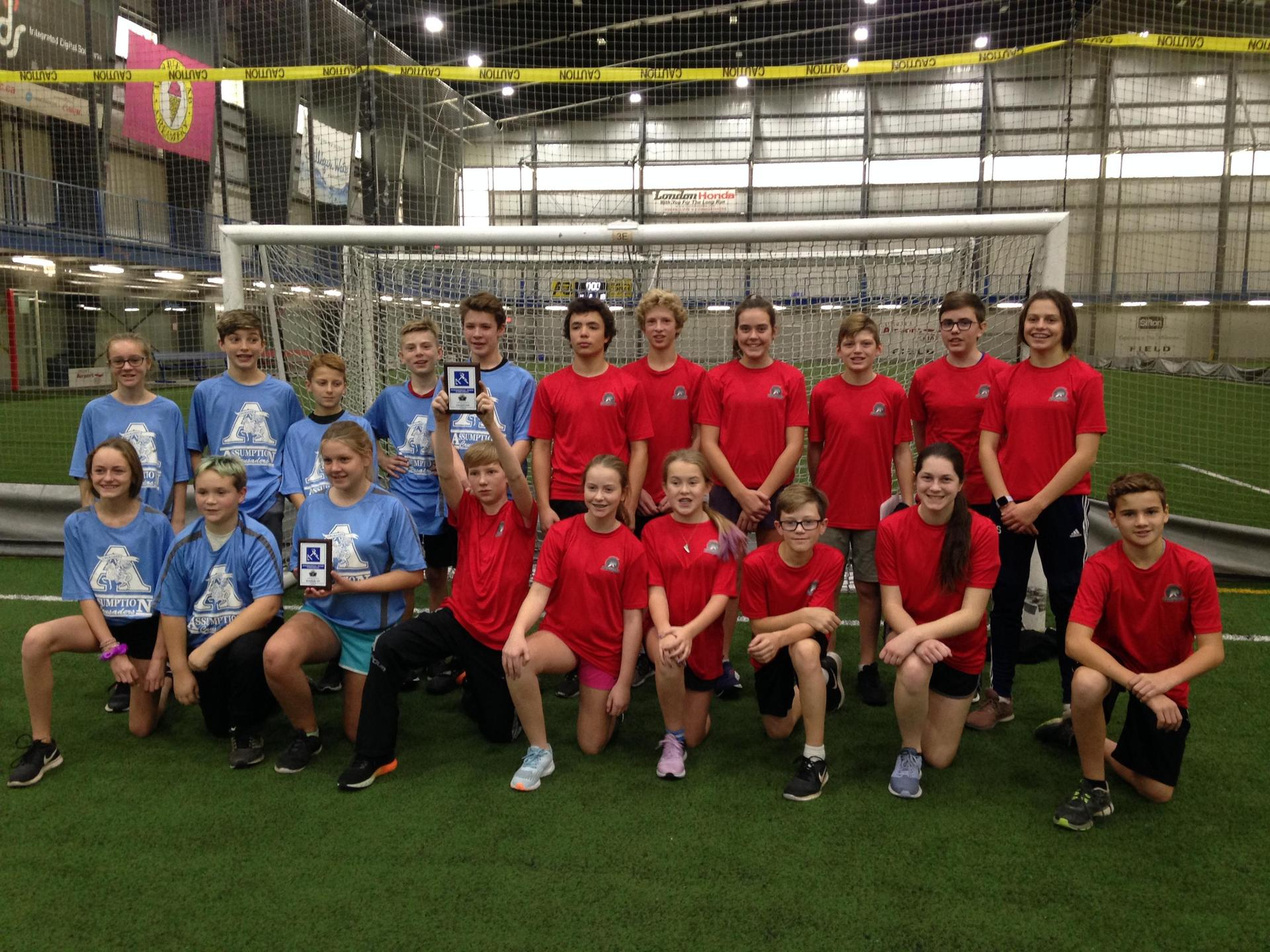 Tchoukball Finalists
