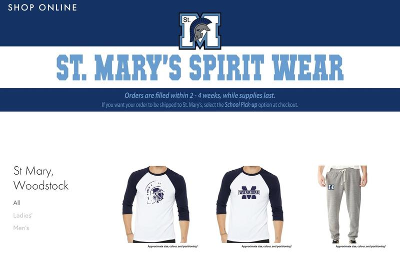 SMHS Spirit Wear Online Shop