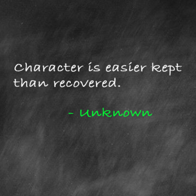 ADSB Character Quote: