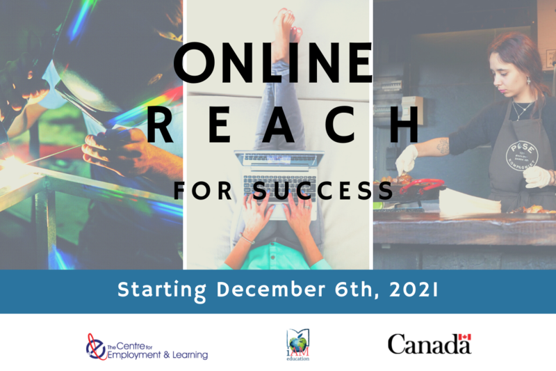 Reach for Success is paid job readiness training, career coaching and work placement opportunities for youth/young adults aged 15-30.