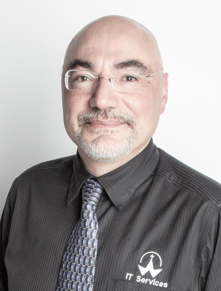 Luis Gomes, Manager of IT Services