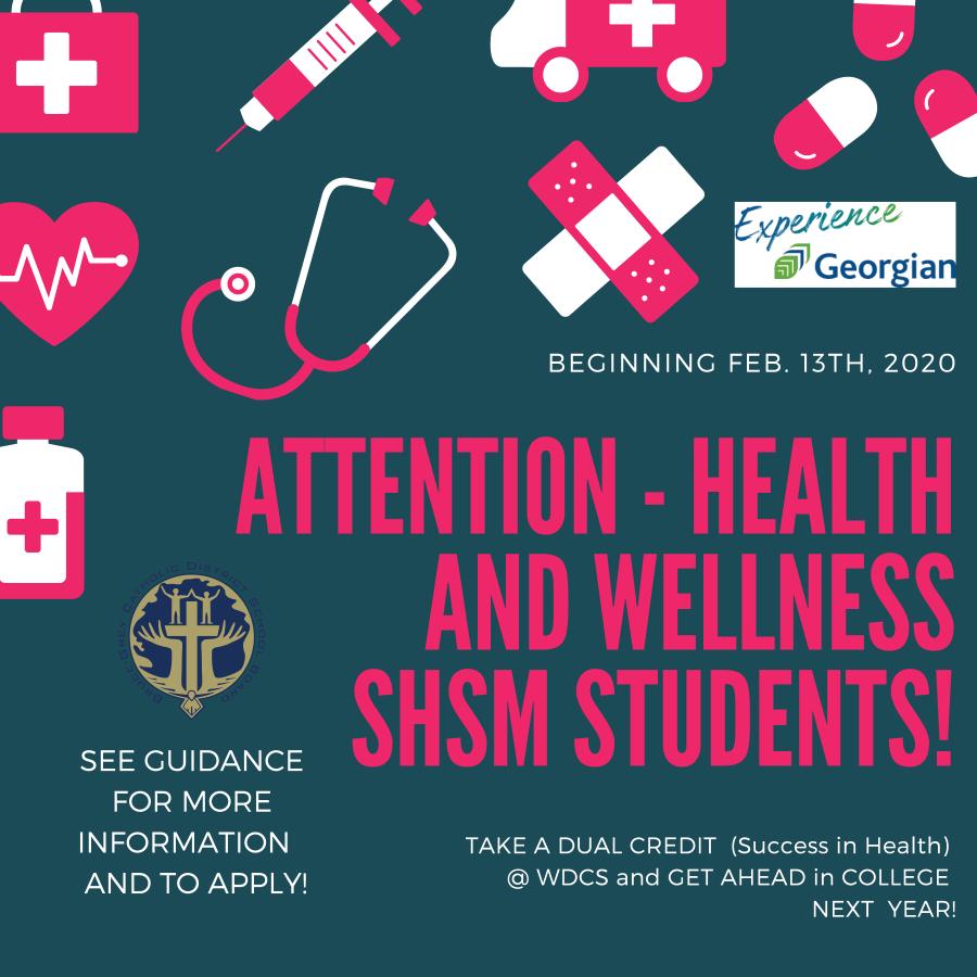 SMHS Dual Credit Feb 2020