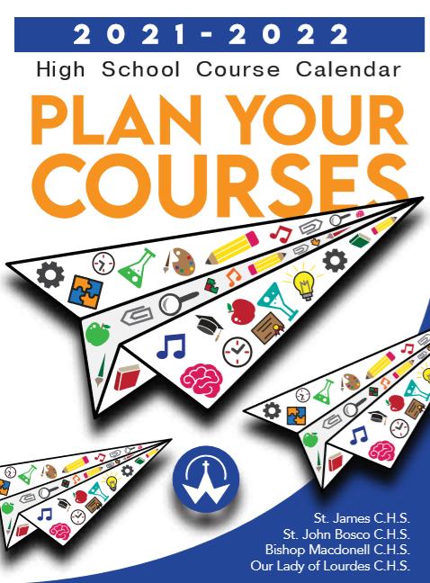 Course Calendar 2021-22