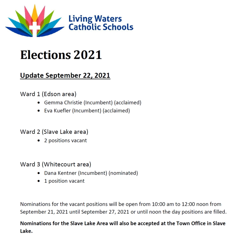 Trustee Elections Update Featured Photo