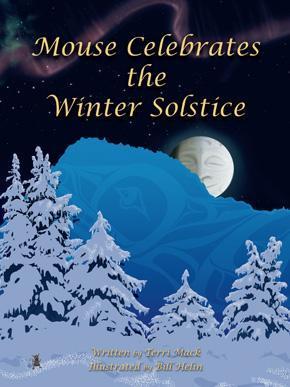Mouse Celebrates Winter Solstice