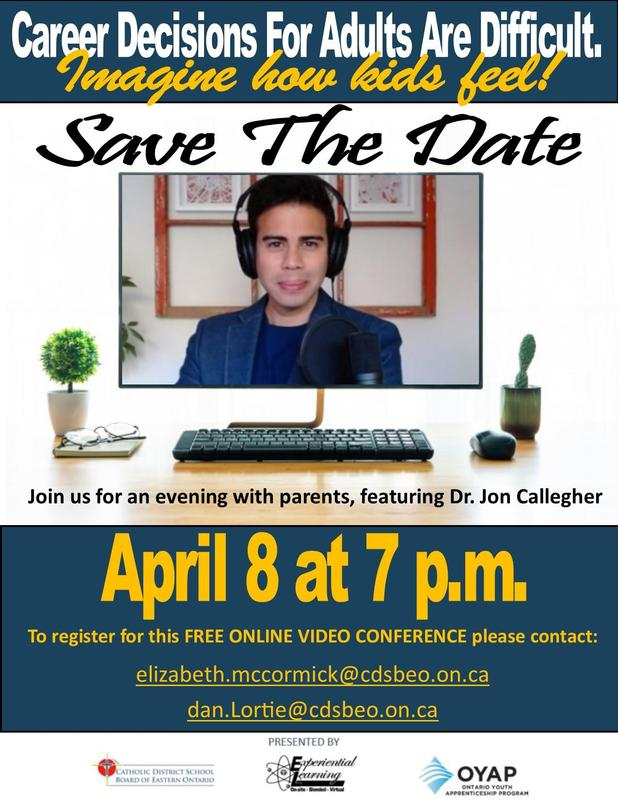 Virtual Parent Night featuring Dr. Jon Callegher Featured Photo