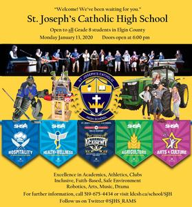 St. Joseph's Open House