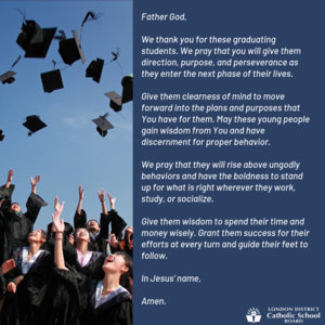 graduation prayer