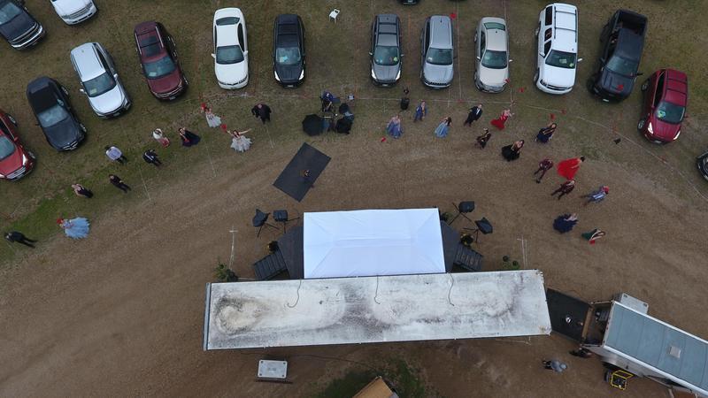 Grad Drone Photo