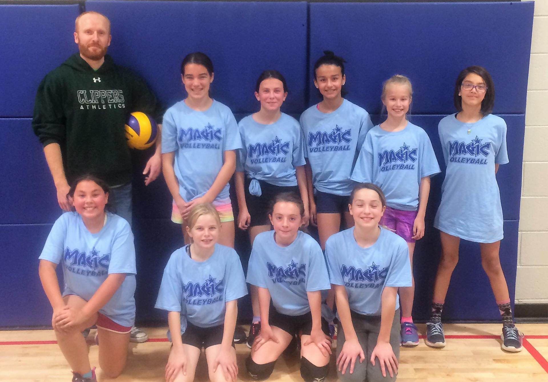 Grade 6 Girls Team B