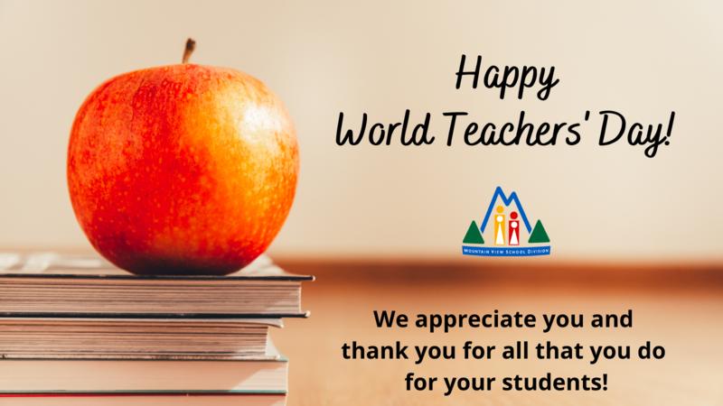 World Teachers' Day - Thank You
