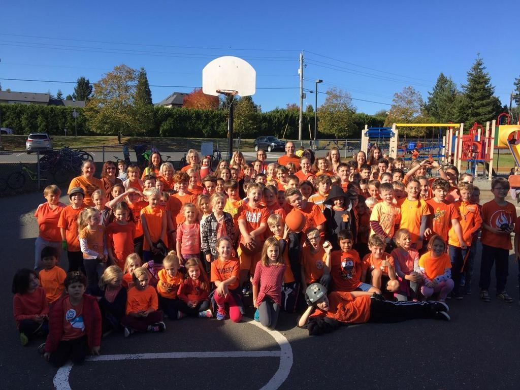 Brooklyn acknowledges the wrong done many years ago at Residential Schools and Celebrates Orange Shirt Day with hope that it will never happen again.