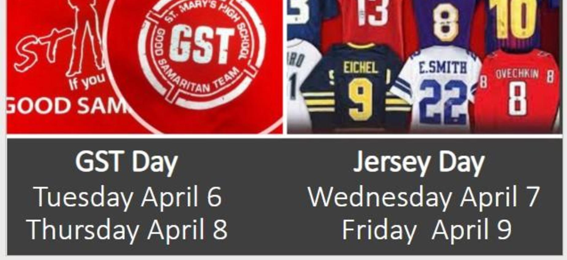 gst and jersey days at smhs
