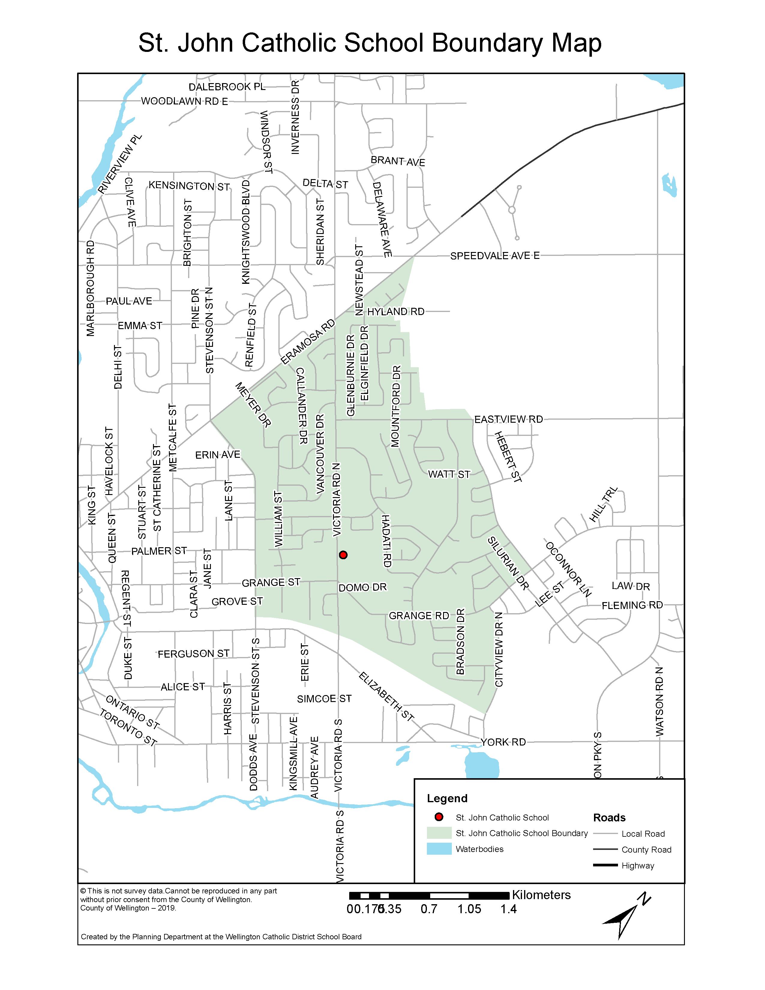 St John Guelph Boundary