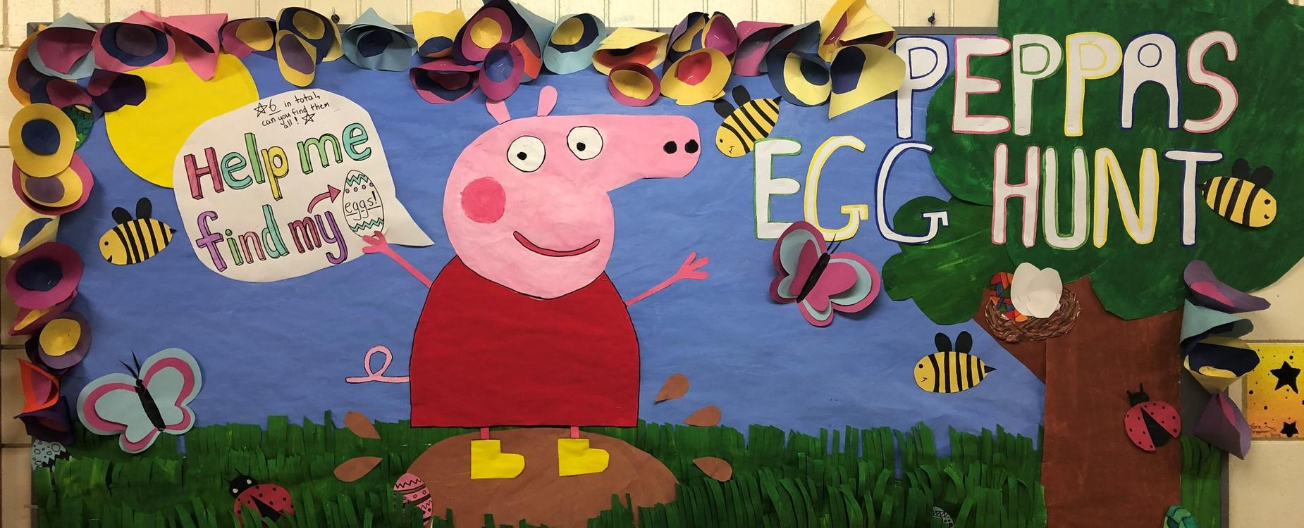 Peppa Pig Bulletin Board