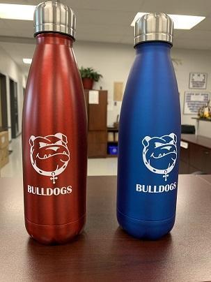 Bulldog Water Bottles