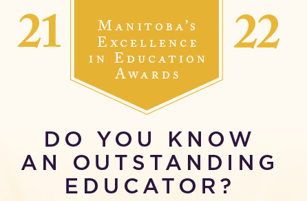 Manitoba's Excellence in Education Awards