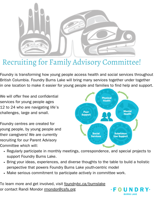 Recruiting for Family Advisory Committee.png