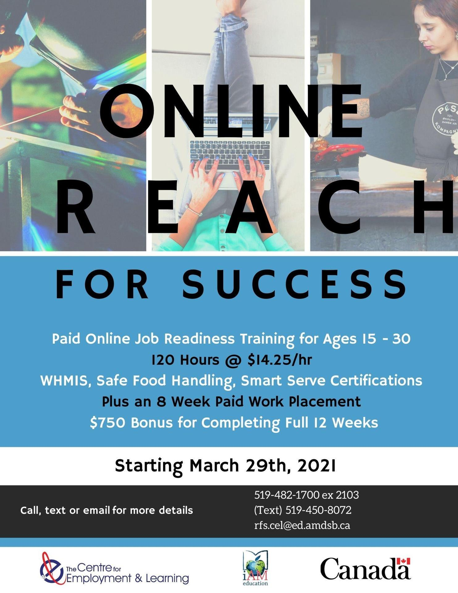 Reach for Success Poster