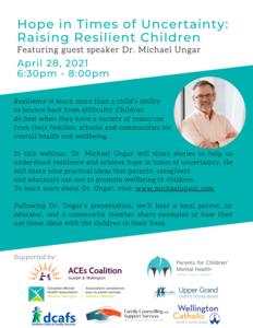 Dr. Michael Ungar