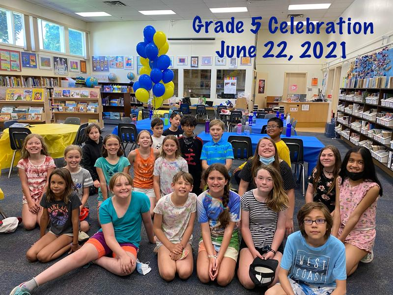 Grade 5 Year End Celebration Featured Photo