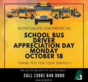 School Bus Driver Appreciation Day