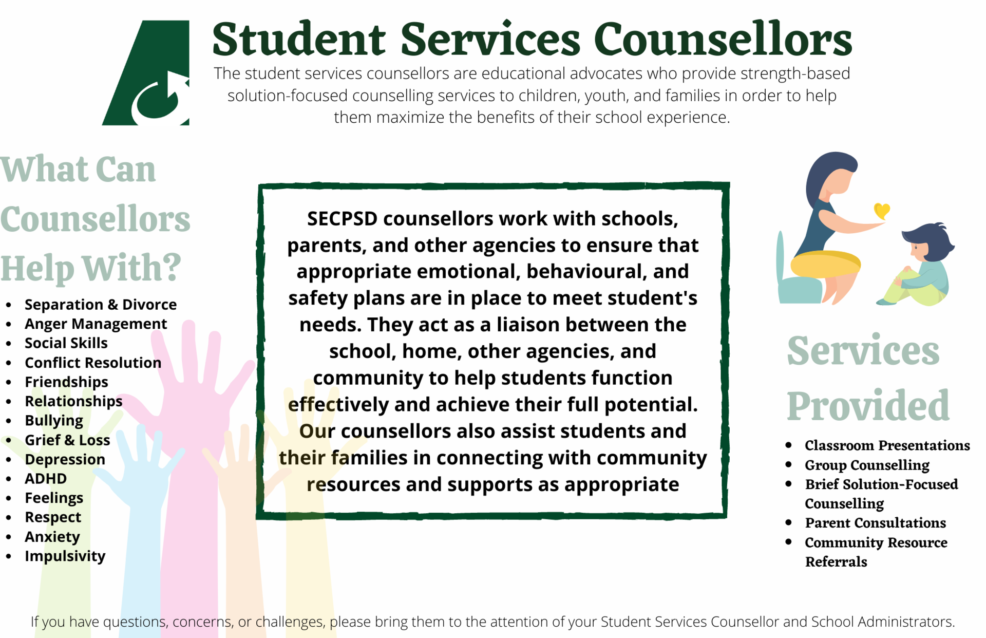 Student Services Counsellors