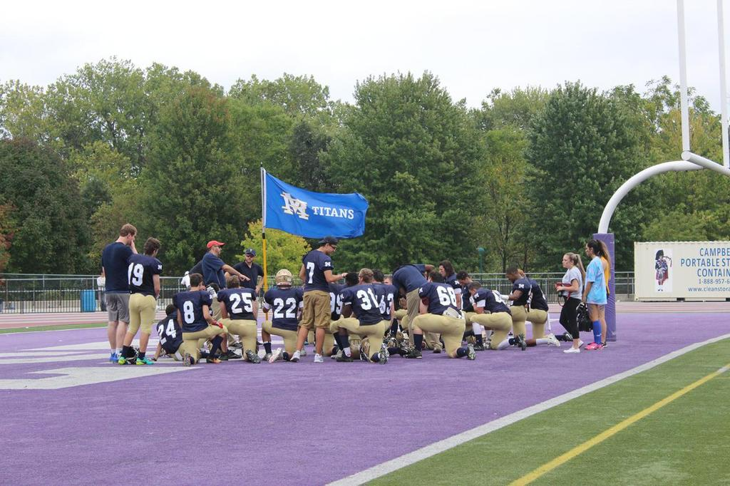 Red Feather - United Way Football Game
