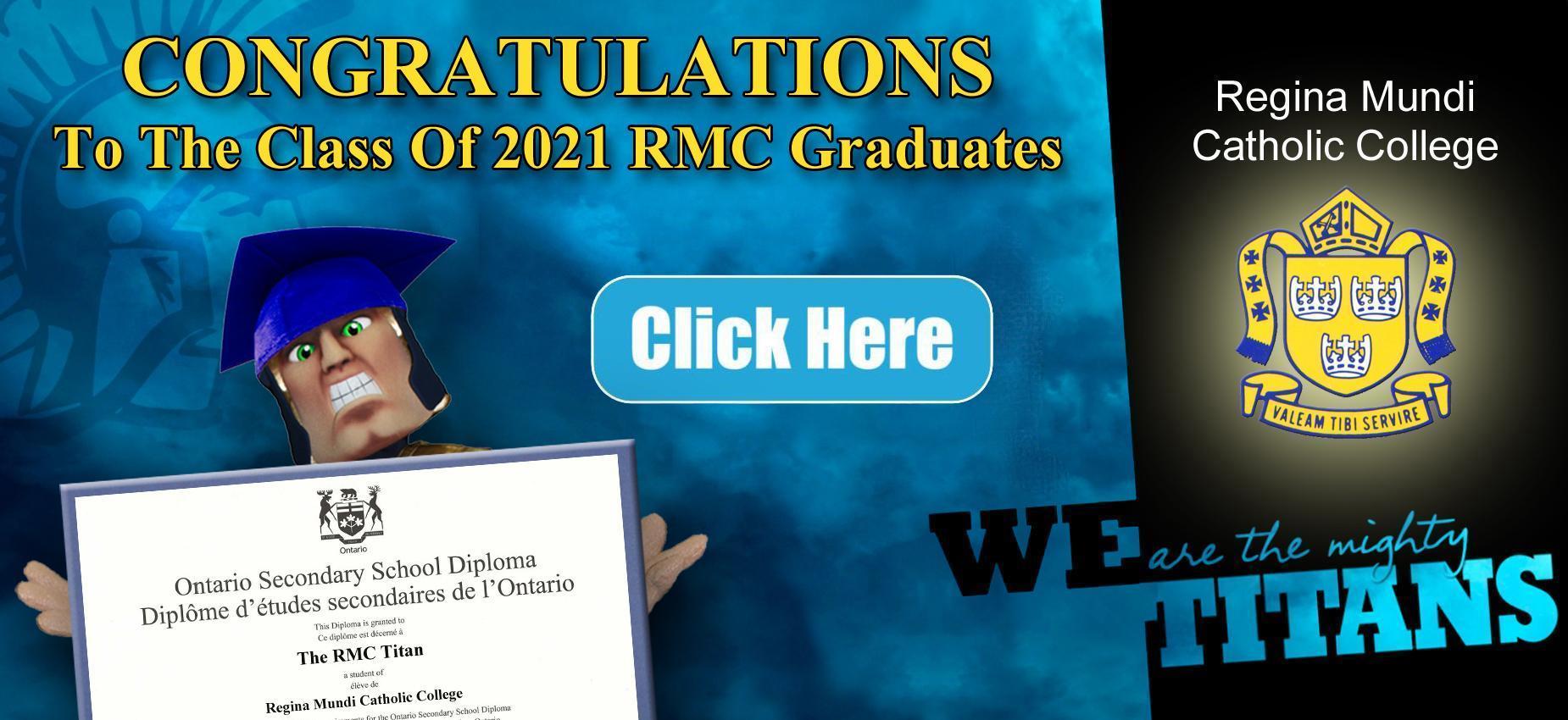 Class of 2021 RMC Graduates