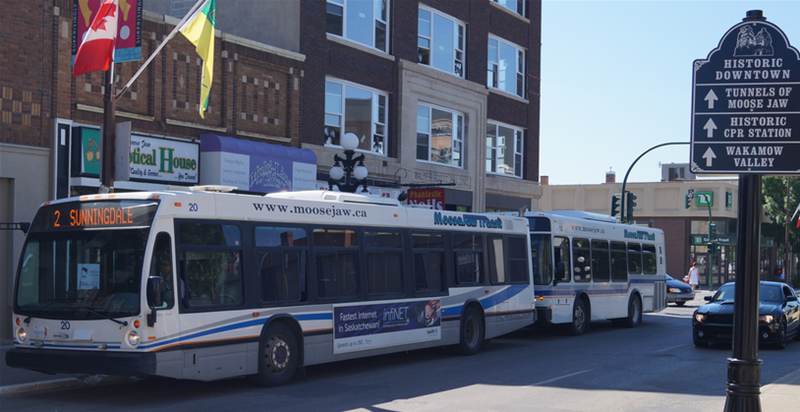 Moose Jaw City Transit Bus Schedule Featured Photo