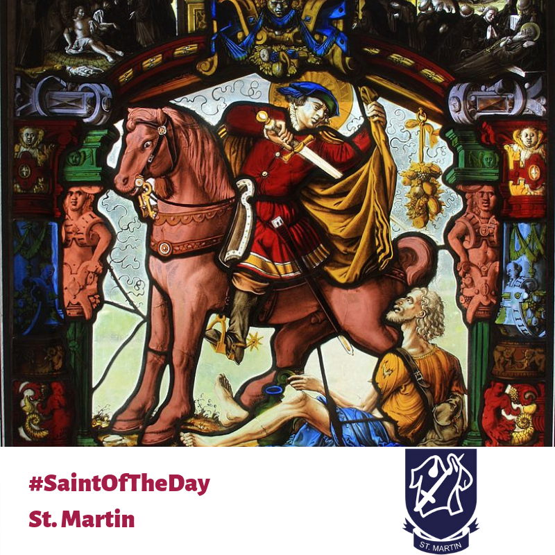 St. Martin stain glass