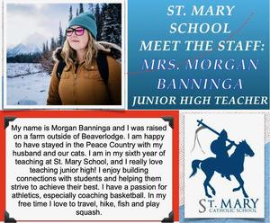 St. Mary (Beaverlodge): Morgan Banninga Featured Photo