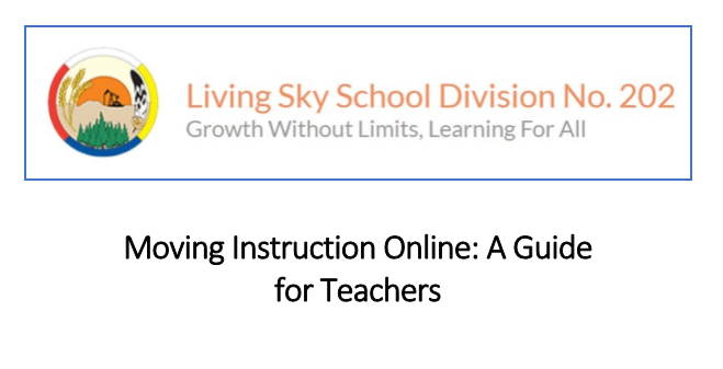 Moving Instruction Online: A Guide for Teachers