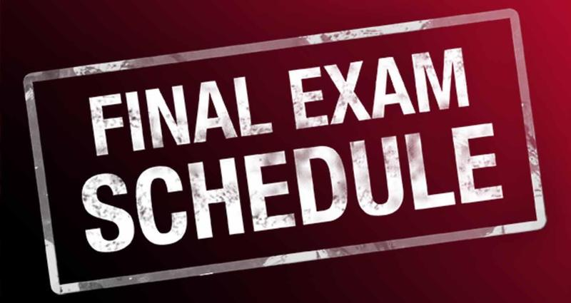 June Exam Schedule Featured Photo