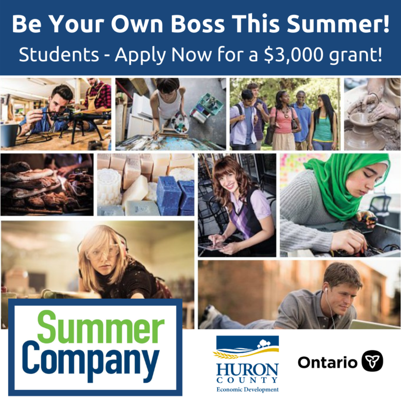 """""""Be your own boss! Are you between the ages of 15-29 & interested in starting your very own business this summer? Successful applicants will receive $3,000 in start-up funds & business coaching throughout the summer.  Application Deadline: May 23, 2021. Limited space available, apply today!"""