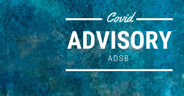 Covid Advisory Icon