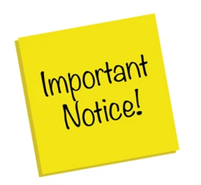 Notice to Visitors Featured Photo