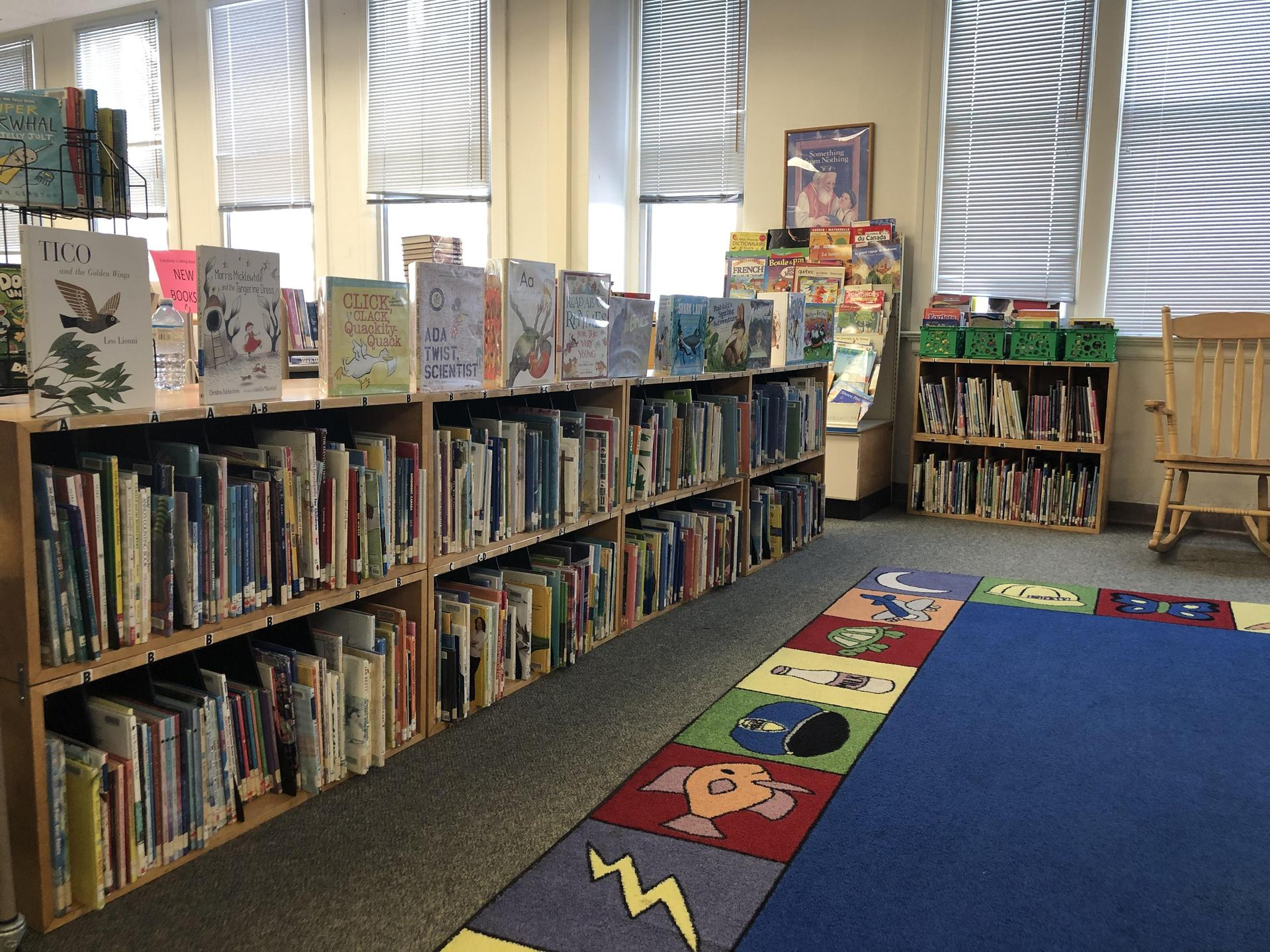 Our Storytime and Picture Book area