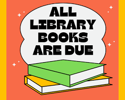 All Library Books Due Tuesday June 15th Featured Photo