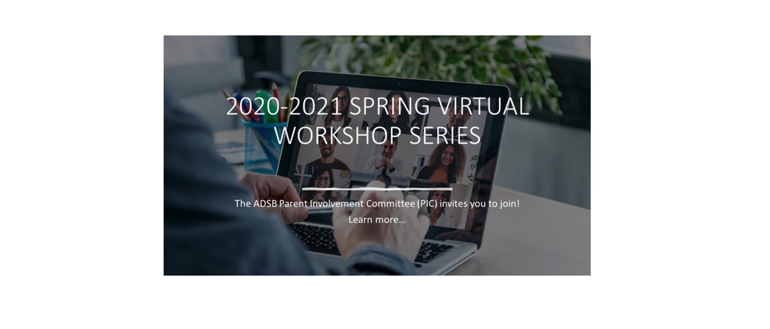 spring workshop sign up