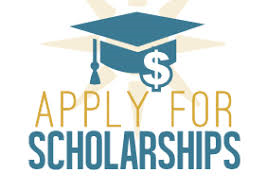 Image stating Apply for Scholarships