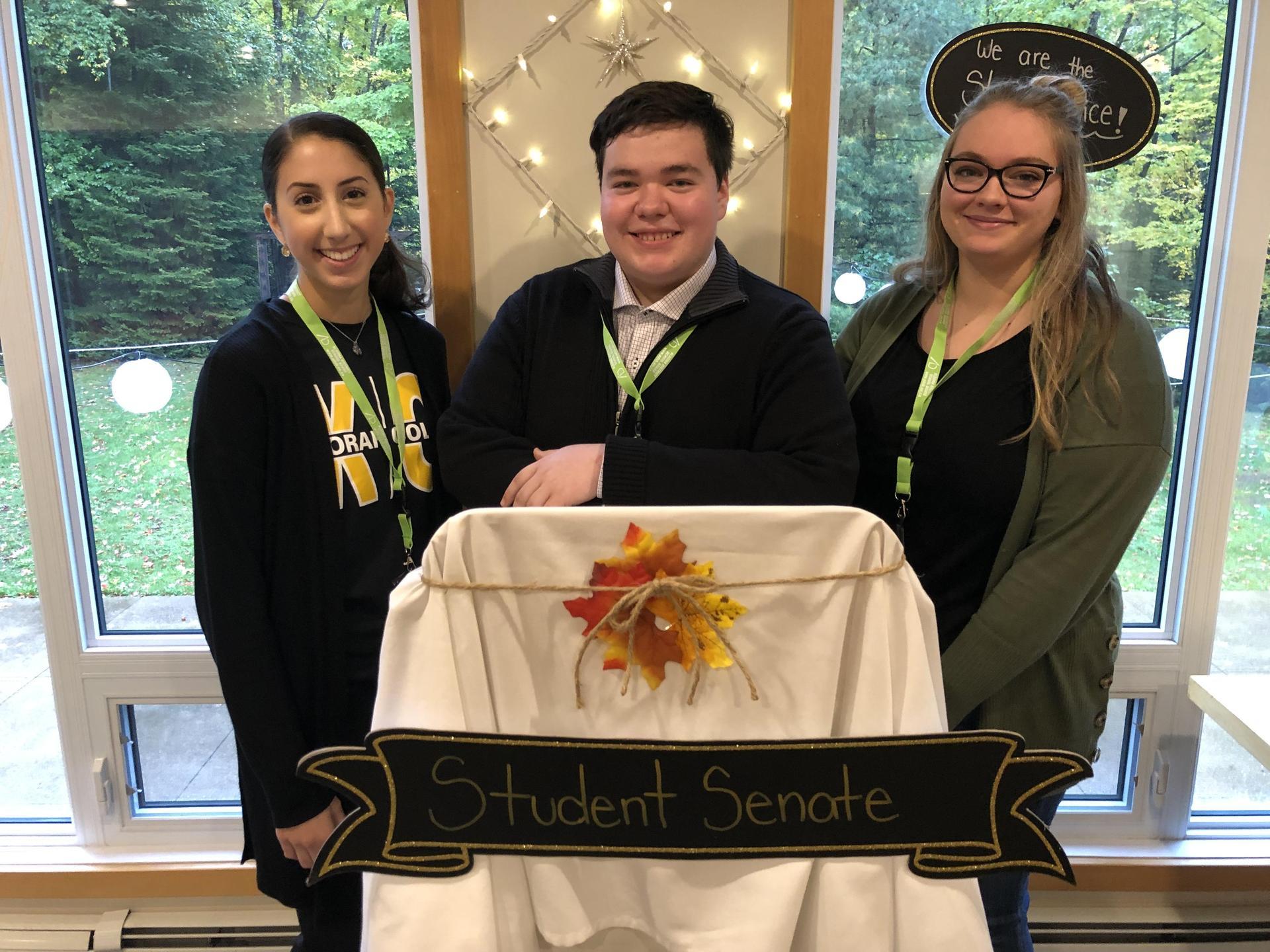 3 student trustees