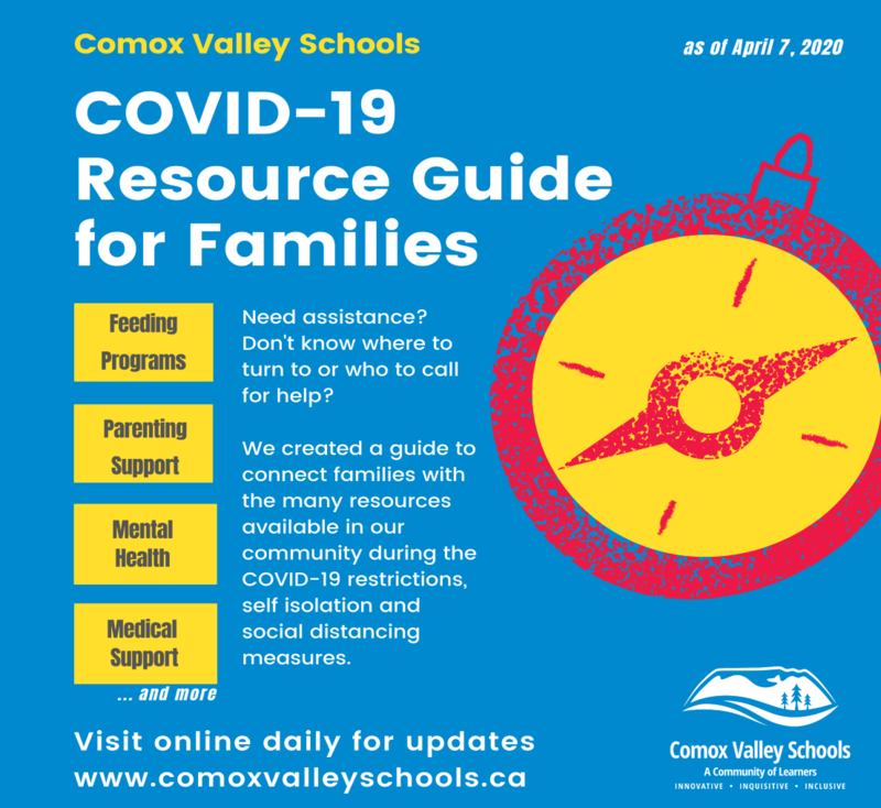 Comox Valley Family COVID 19 Resource Guide Featured Photo