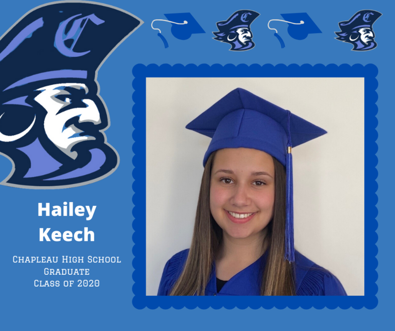 CHS Grade 12 Grad: Hailey Keech Class of 2020 Valedictorian Featured Photo